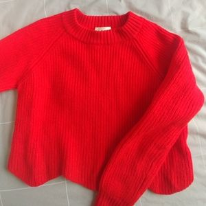 Aritzia Sweaters - Aritzia Wilfred SARDOU scalloped wool sweater